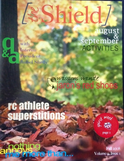 THE FIRST MAGAZINE IN 2008