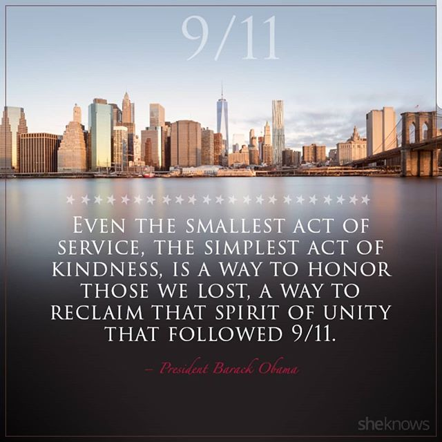 Service • Kindness • Remembrance #NeverForget #UnitedWeStand