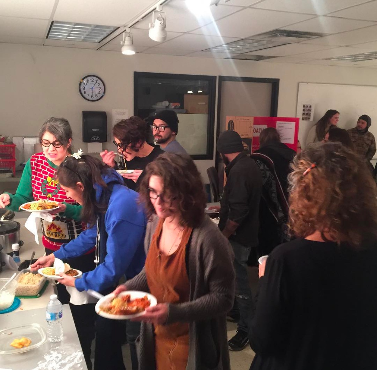 """Socially Engaged Art """"Conflict Crock Pots: after the Conflict Kitchen"""". Fall 2018."""