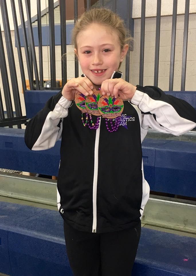 Sarah Stubbert - Hope Valley, RI - Gymnastics