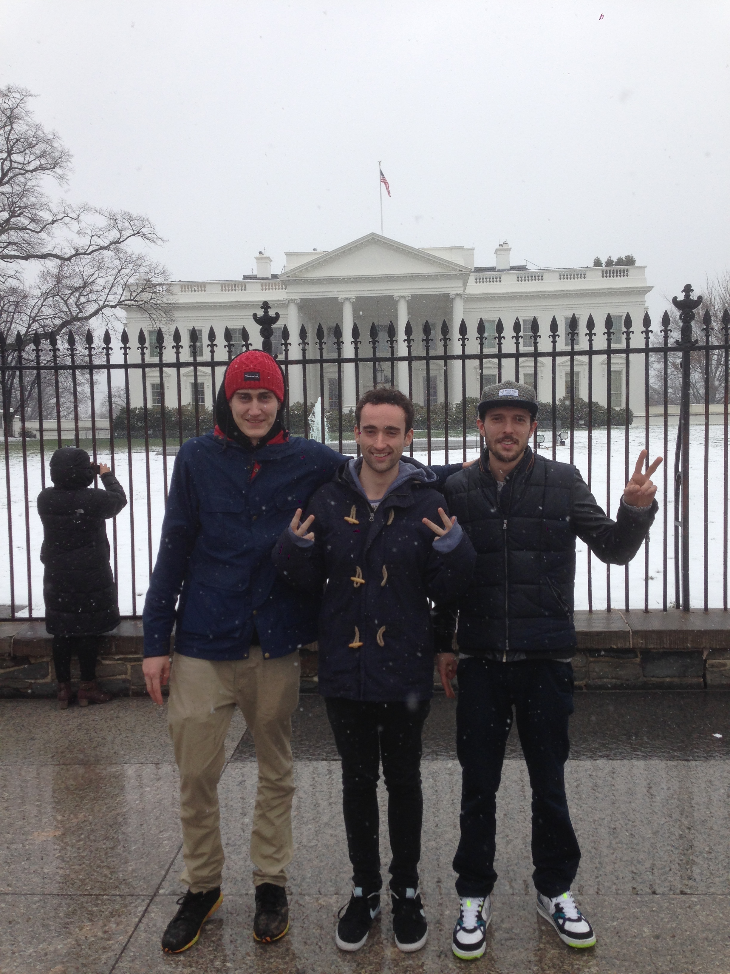 SQUAD PIC: Blaise Railey and Waveracer (first time at in DC)