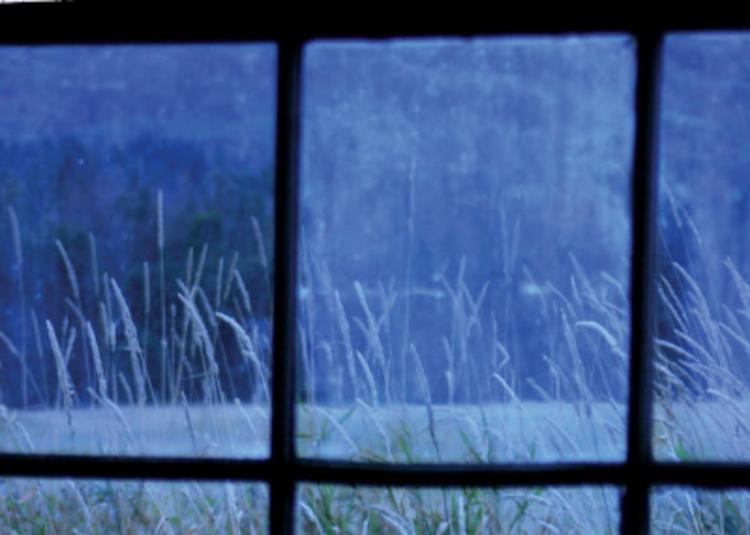 Glenora Falls Barn window