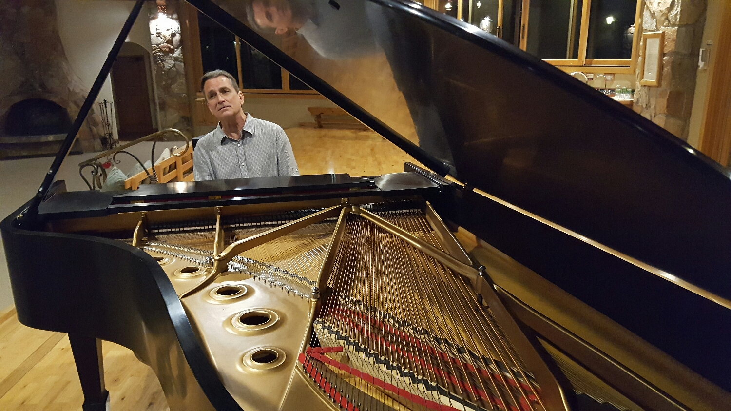 Just finished a week at Rancho La Puerta in Tecate, Mexico. Two concerts on their new Steinway B. Awesome place. Now off to Del Mar to see friends and party.....