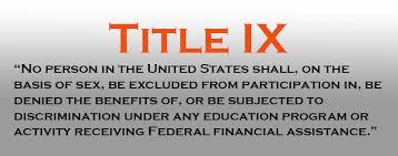 How To File a Title IX Complaint