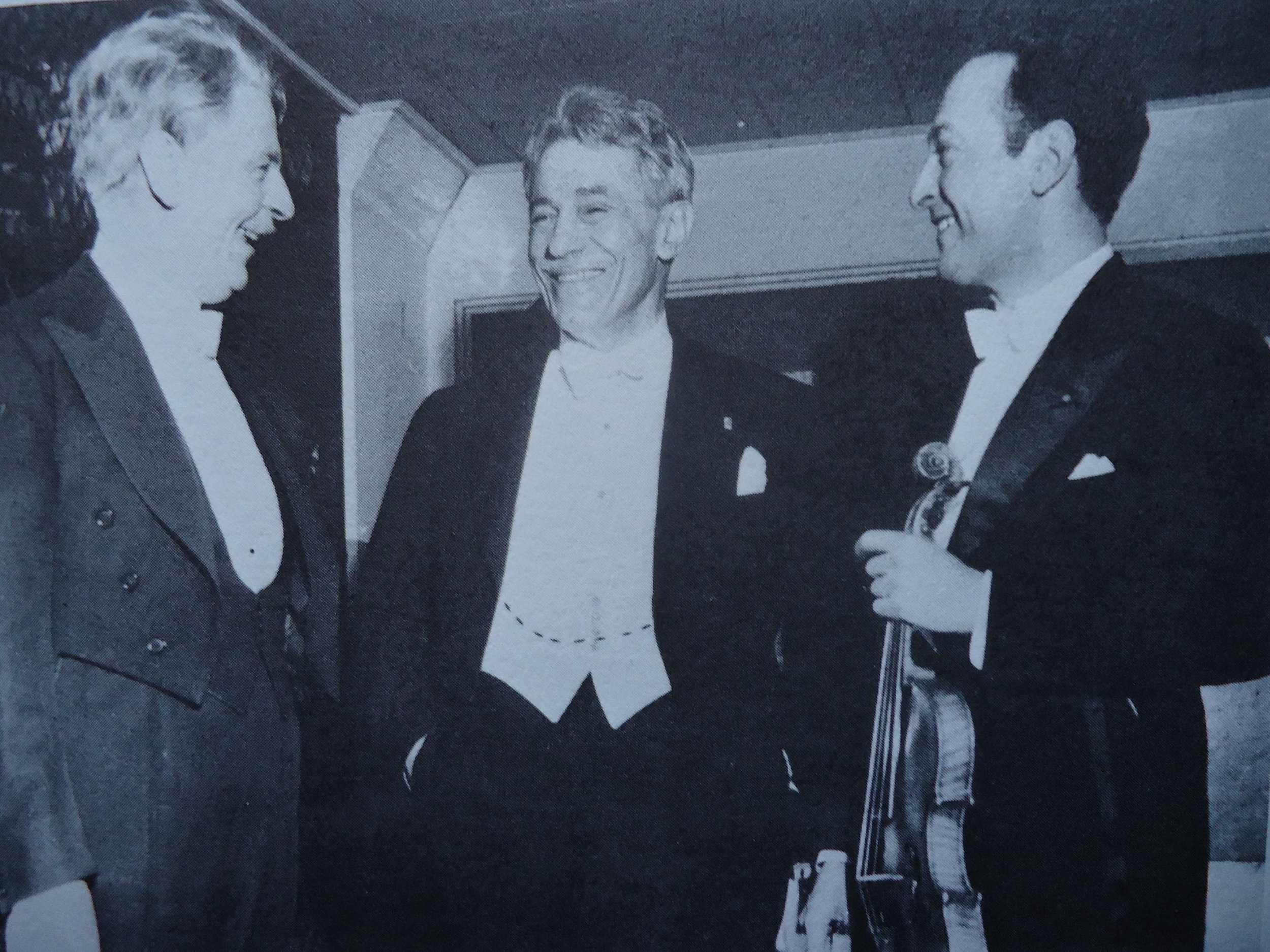 Spalding, Kreisler, and Heifetz
