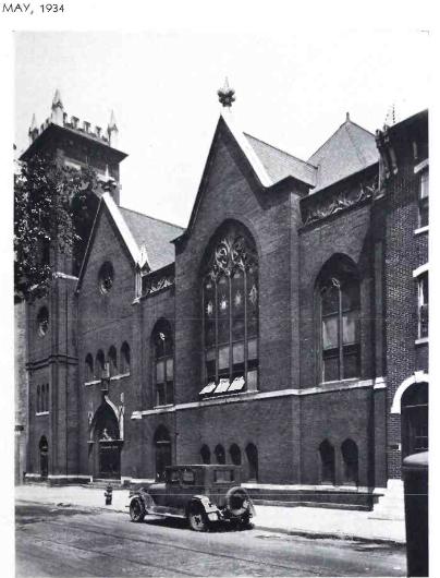 Exterior of 'Trinity', May 1934