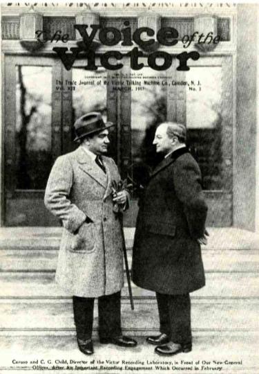 Enrico Caruso and Calvin Child