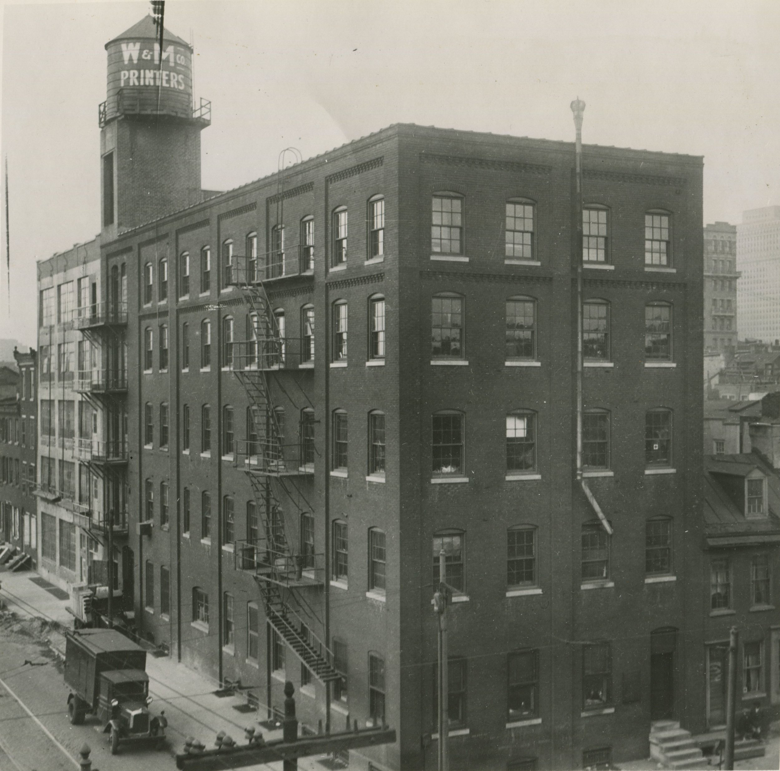 10th and Lombard, after additions and extra floor added