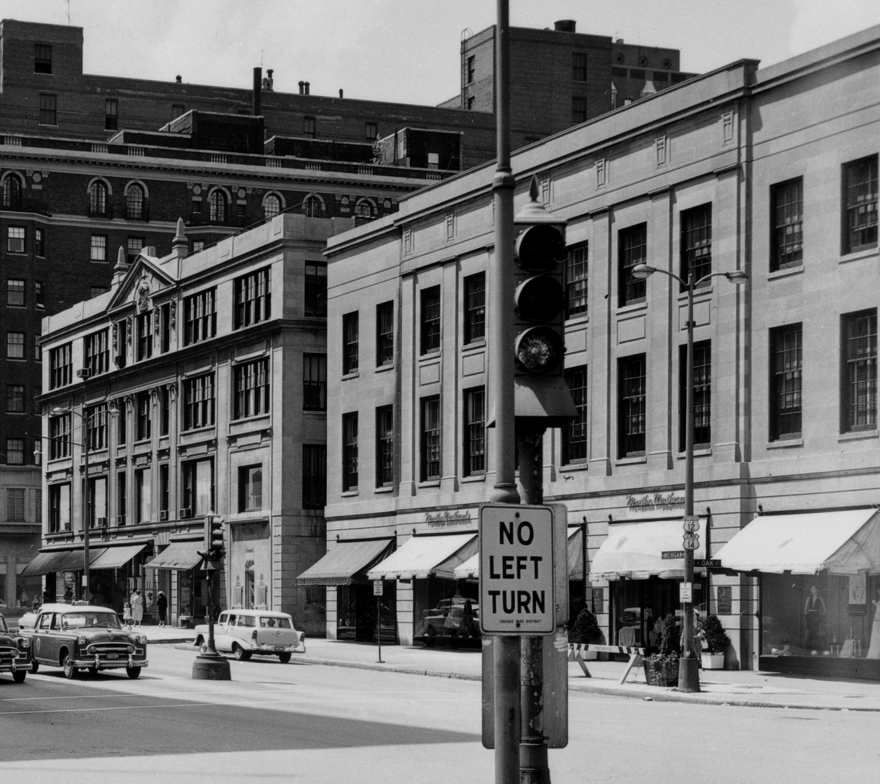 952 N Michigan Ave (Right), 1940s