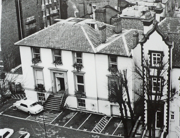 Abbey Road Exterior, 1950s