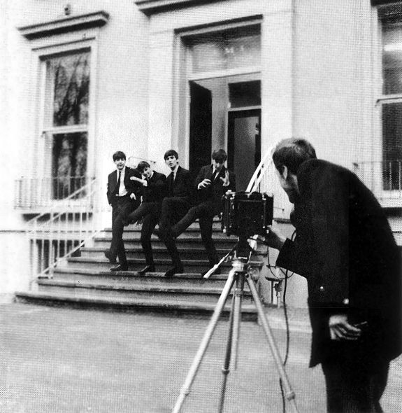 The Beatles, Exterior Photoshoot