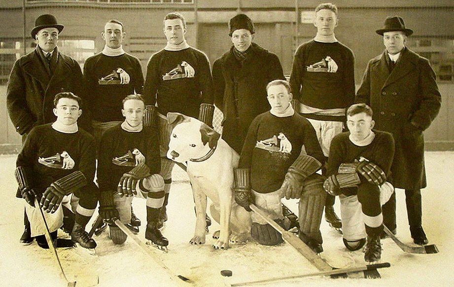 Manufacturer's Hockey League Mascot