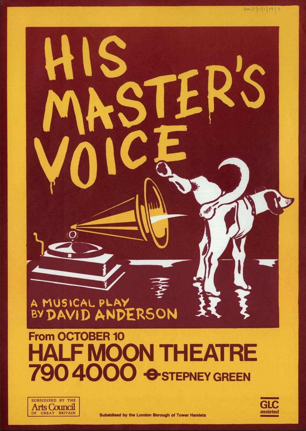 Half Moon Theatre Advertisement
