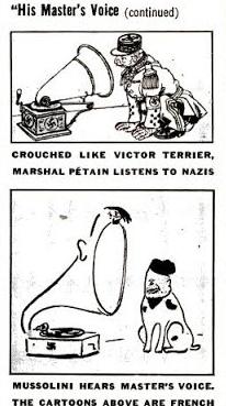 WWII Political Cartoons (Szyk)