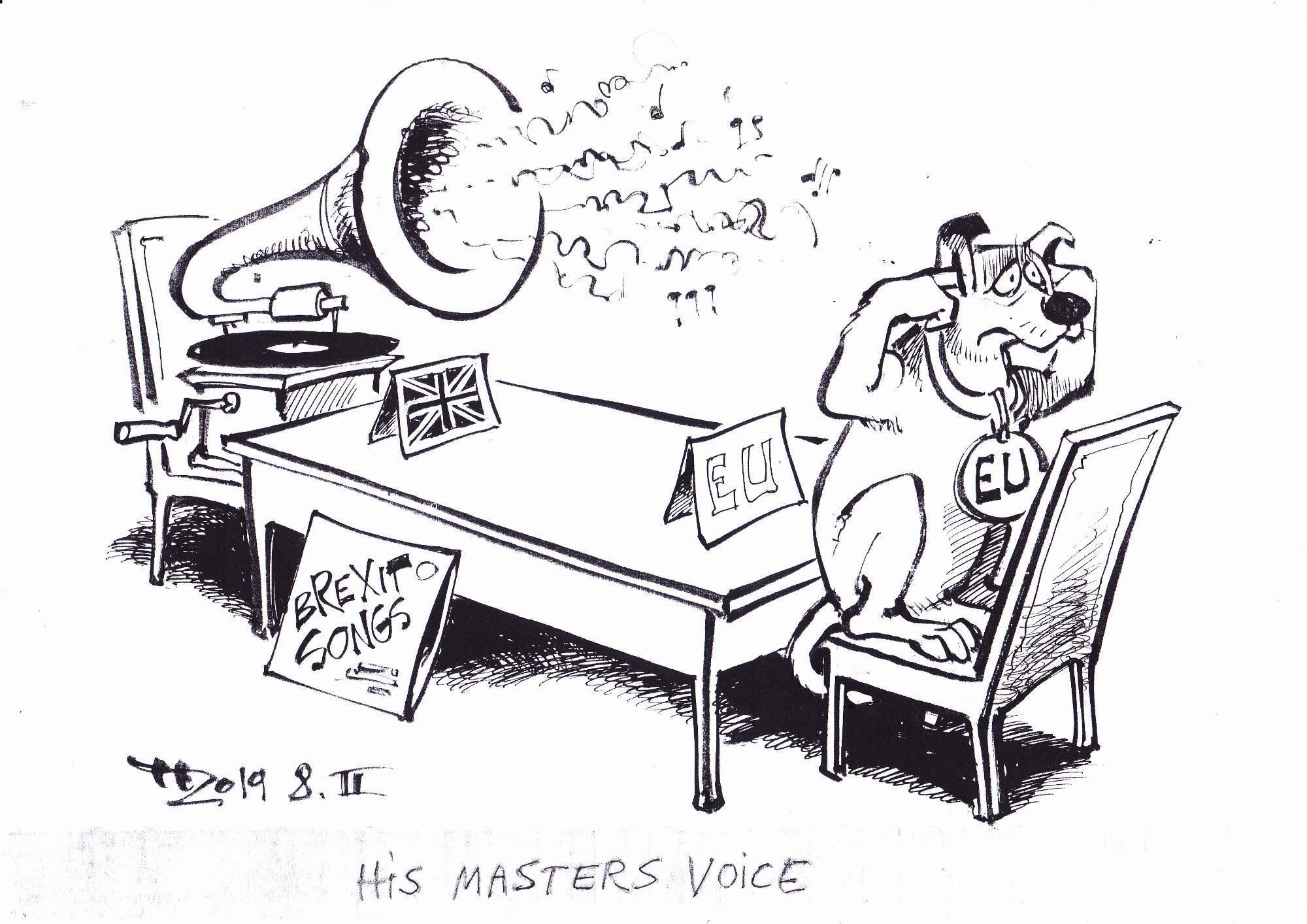 Brexit Political Cartoon (Haitzinger)