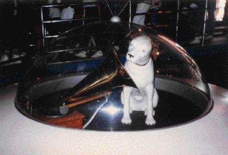 "Nipper at ""Space Mountain"", Walt Disney World (Walt Dated World)"