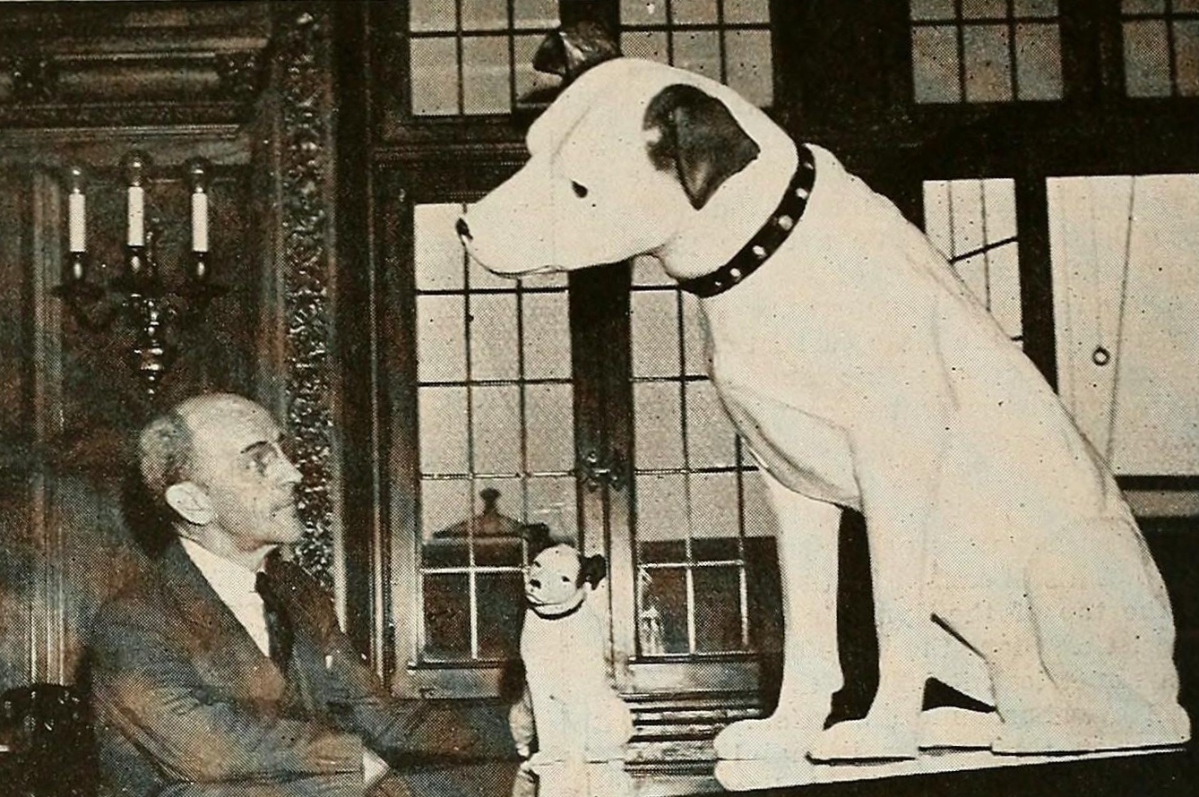 President Throckmorton and Nipper in the Executive Offices