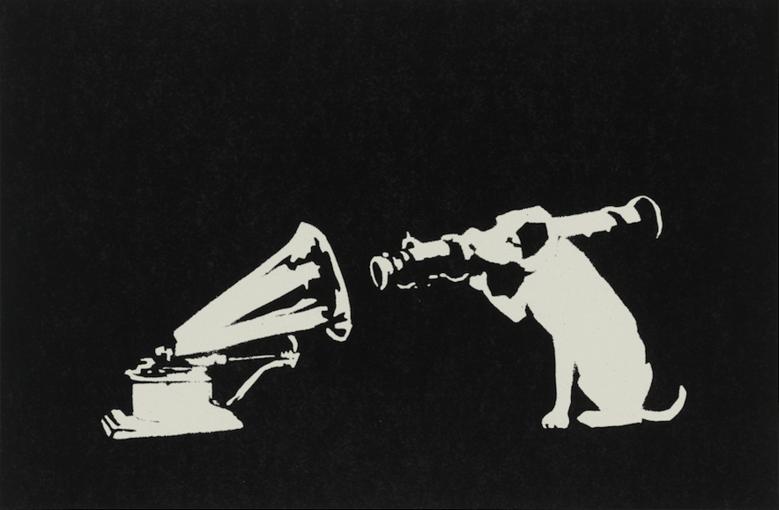 """HMV"" (Banksy)"