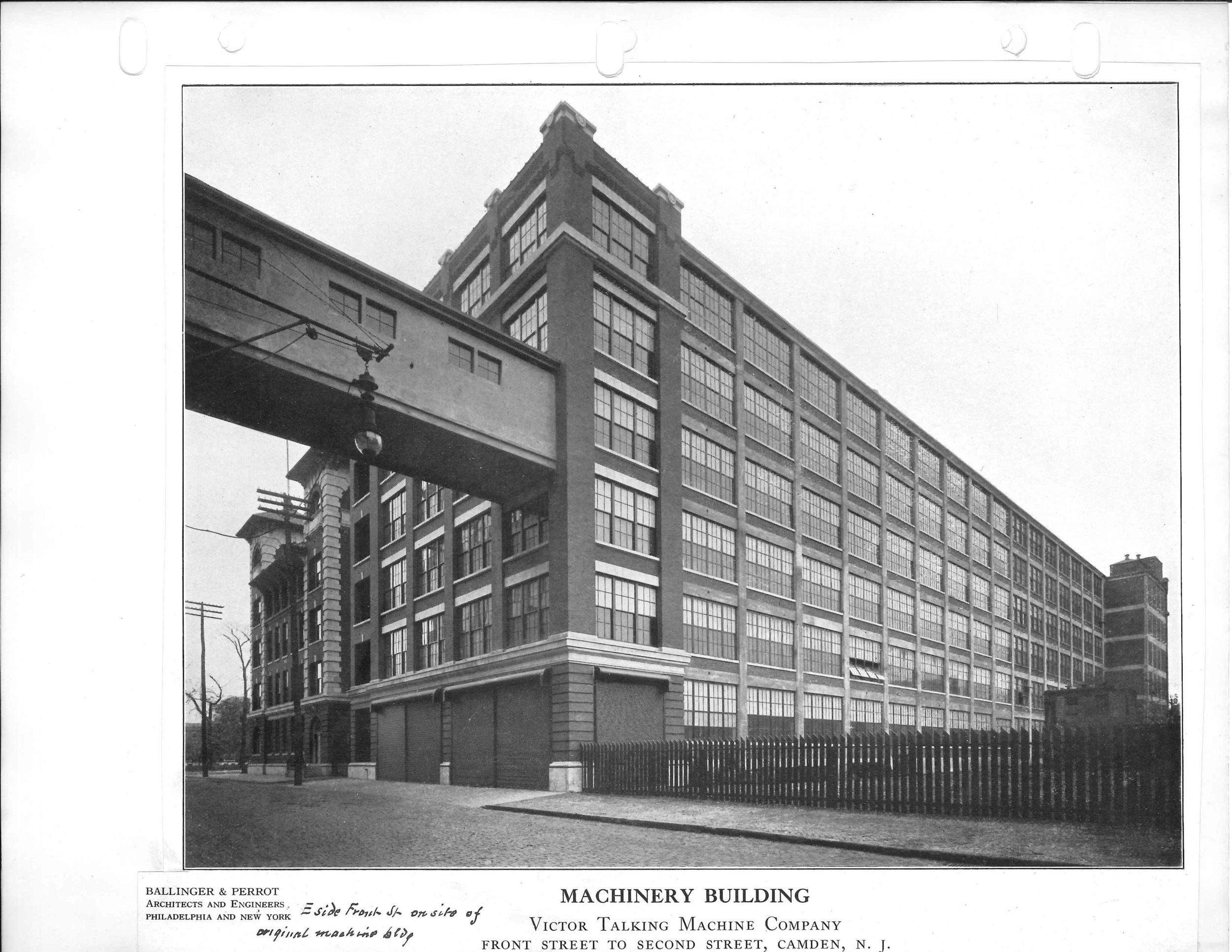 N. Front Street, Johnson Workshop bottom right before demolition