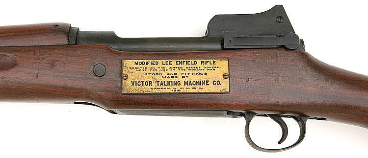 Victor Talking Machine Company made over 1,000,000 Enfield rifles during World War 1