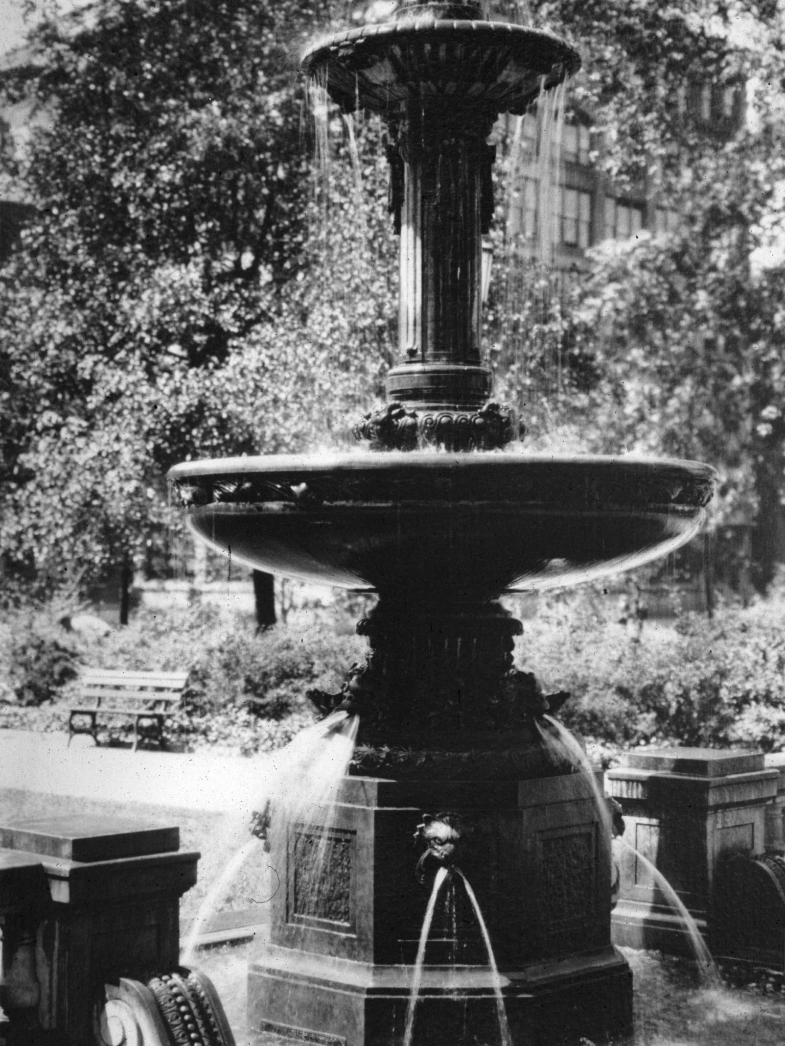 Peter Pan Fountain, Johnson Park