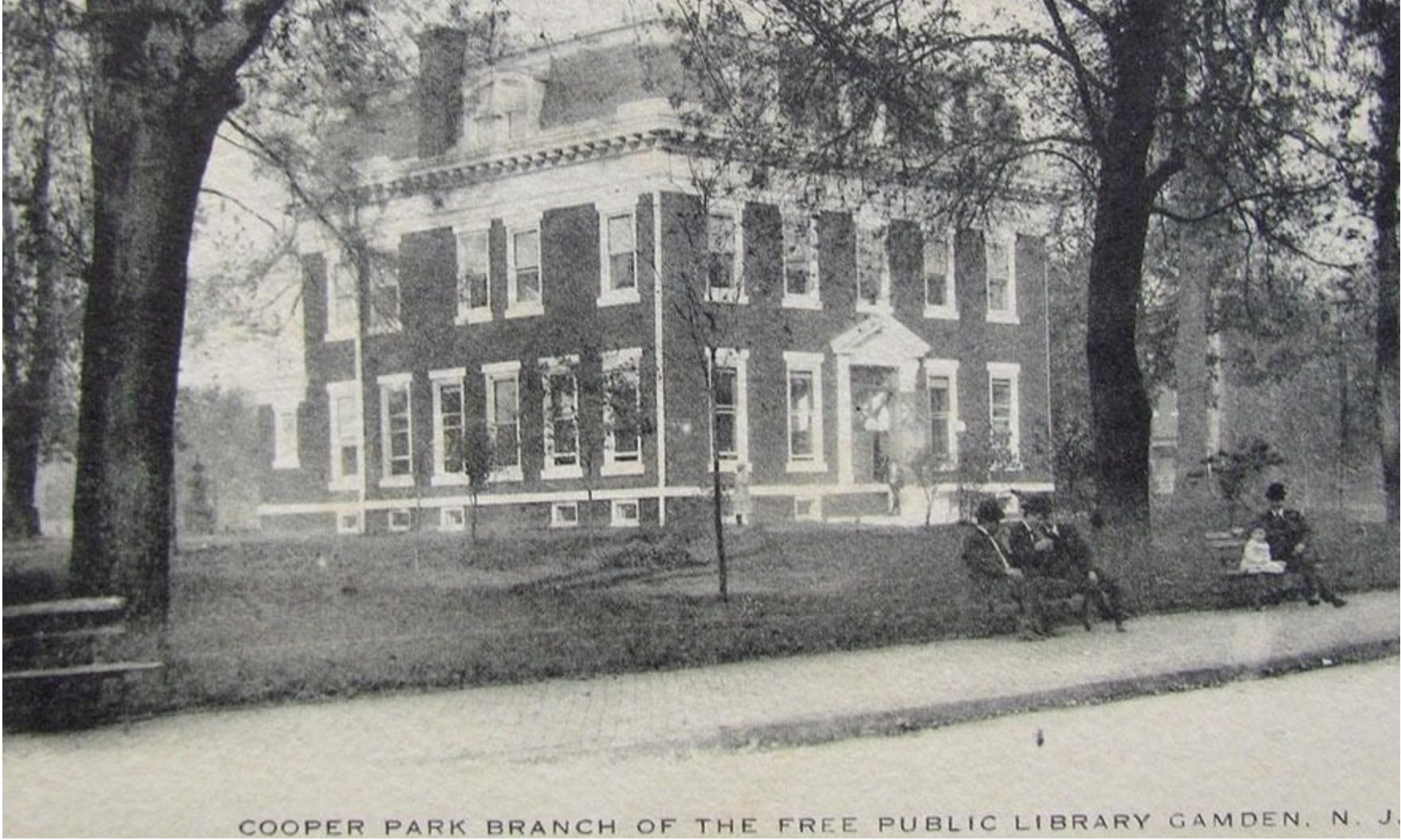 Richard Cooper Mansion before demolition