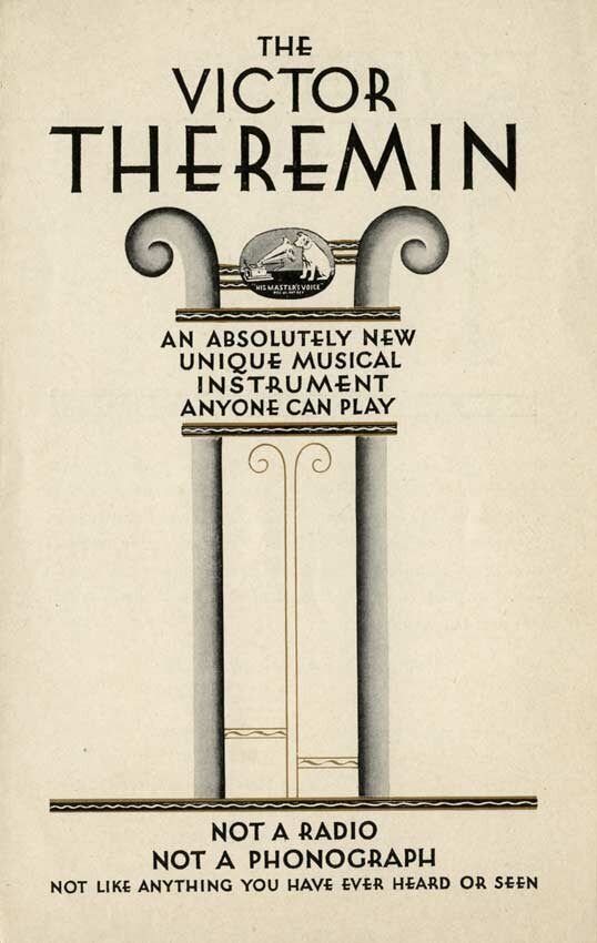 Advertisement for the first Theremin, 1930
