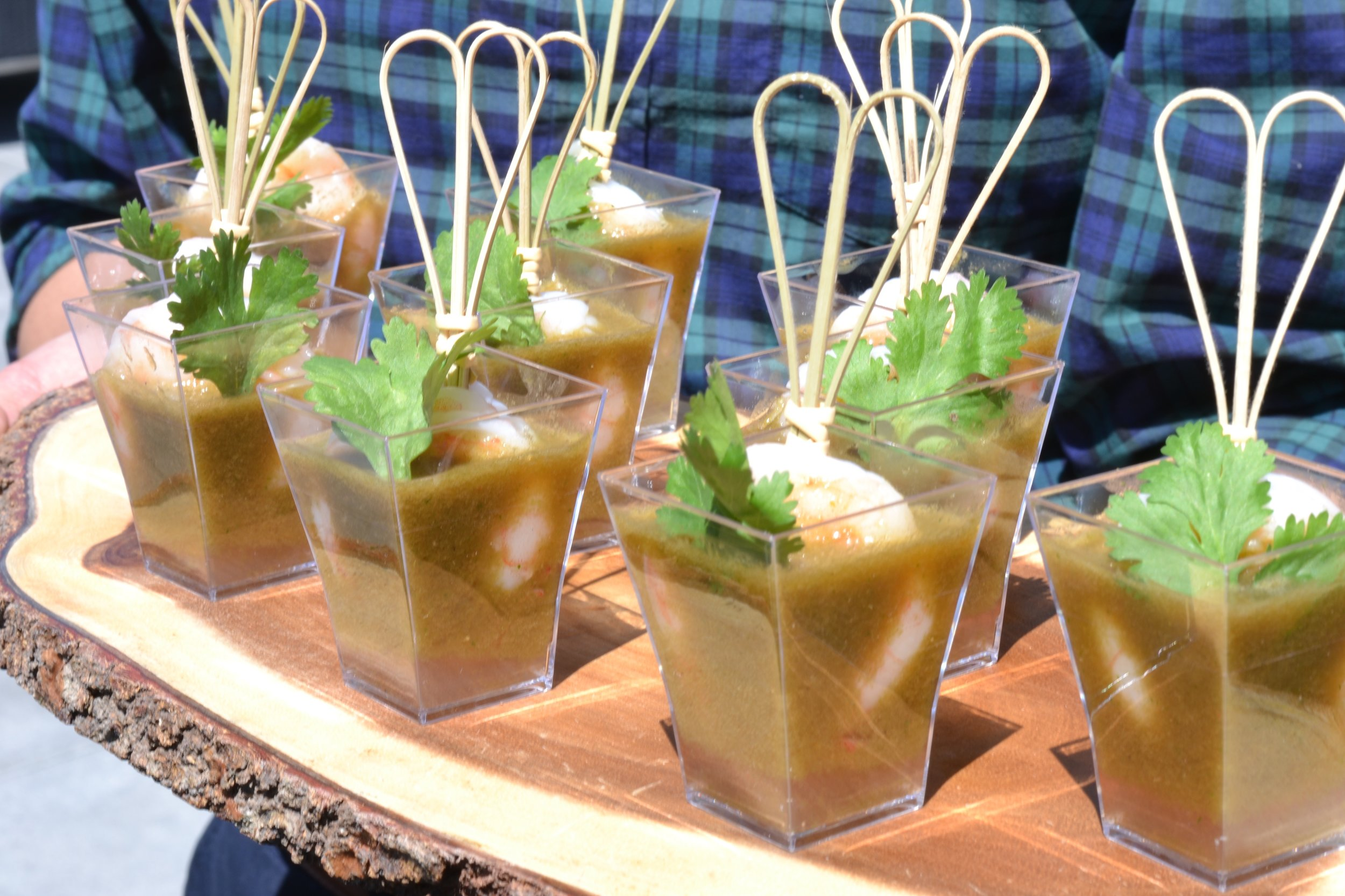 Shrimp Ceviche Shooters