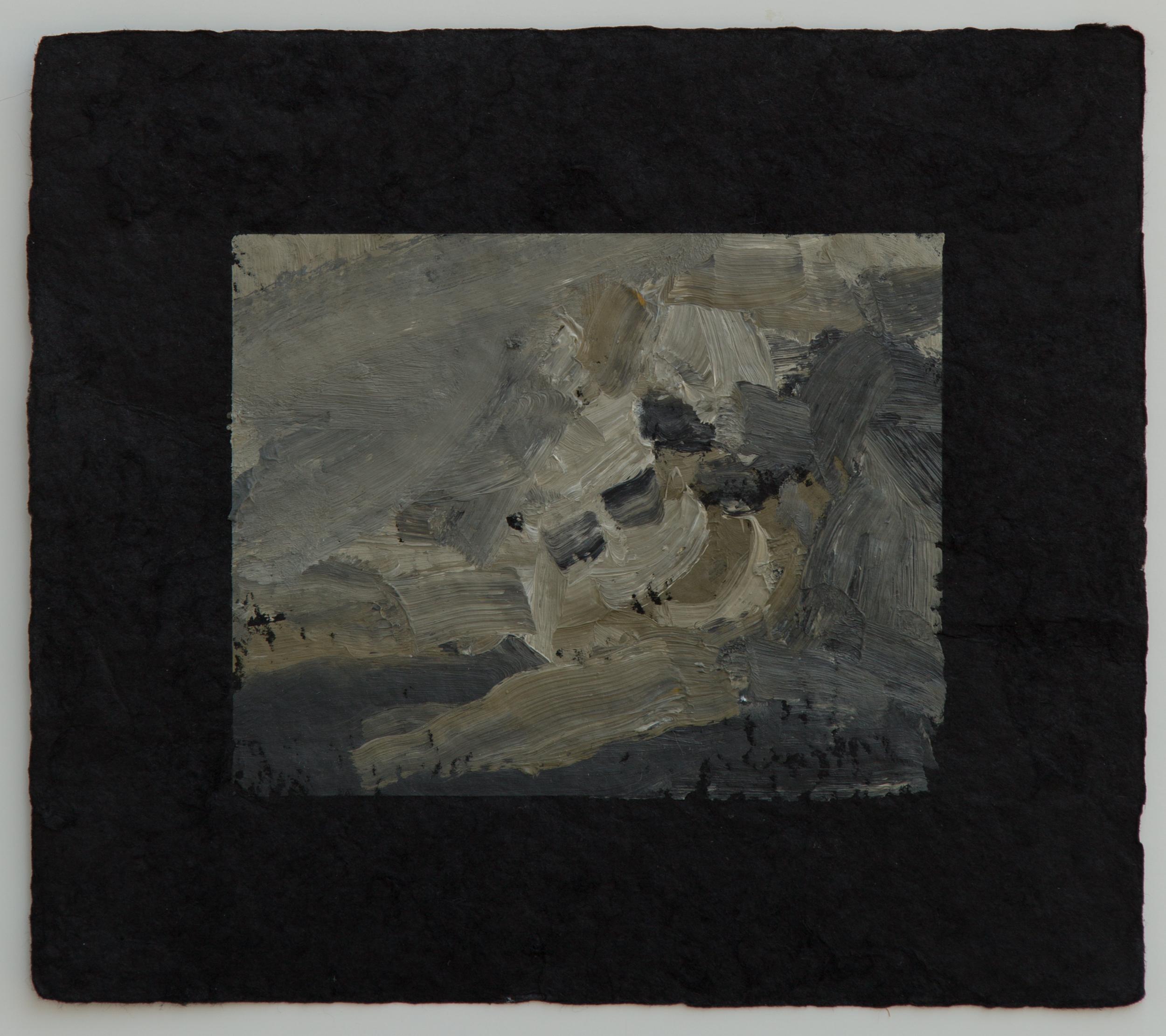 """Campfire study  VI, 9 x 10"""", 2016"""