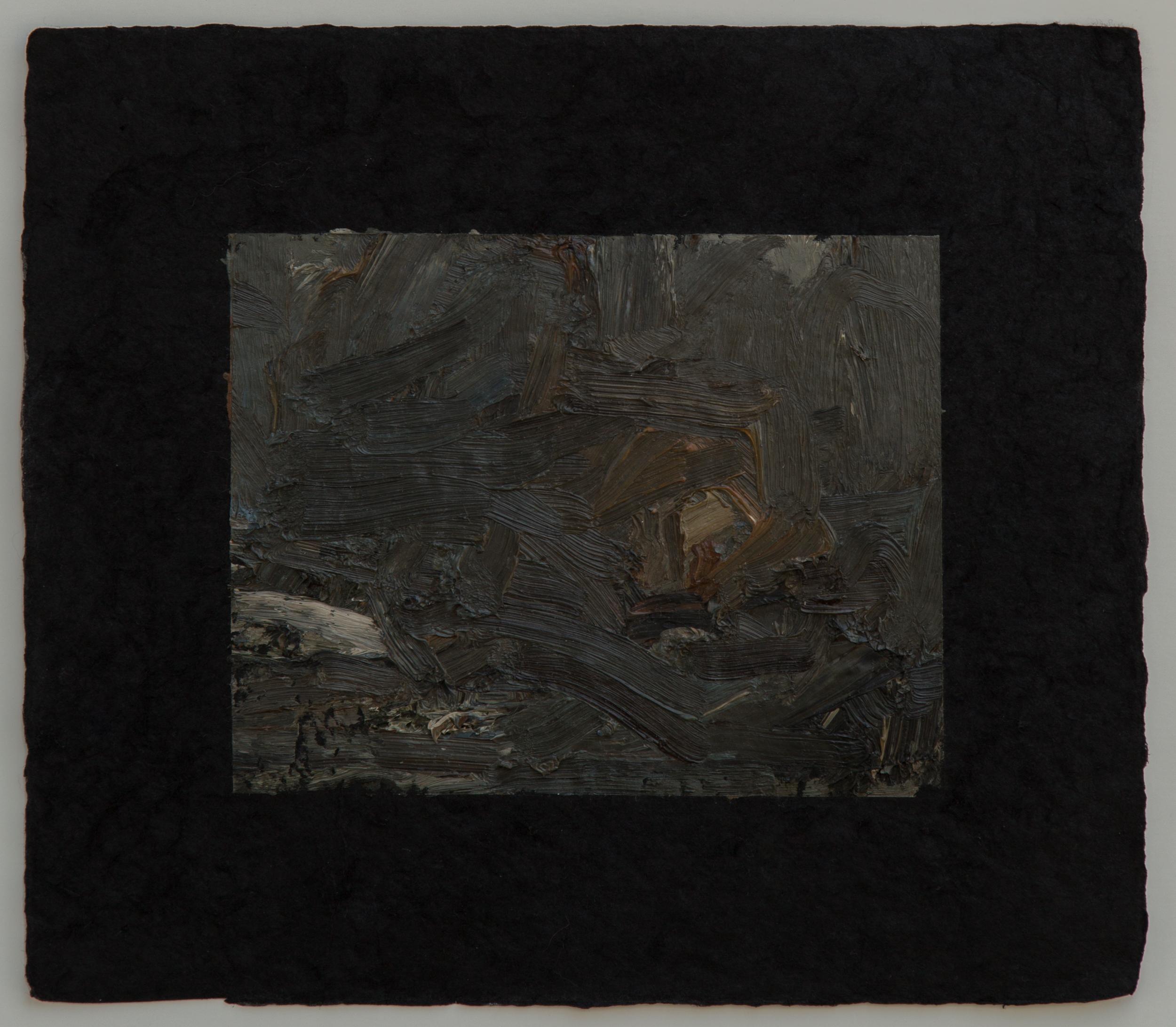 "Campfire study VIII, 9 x 10"", 2016"