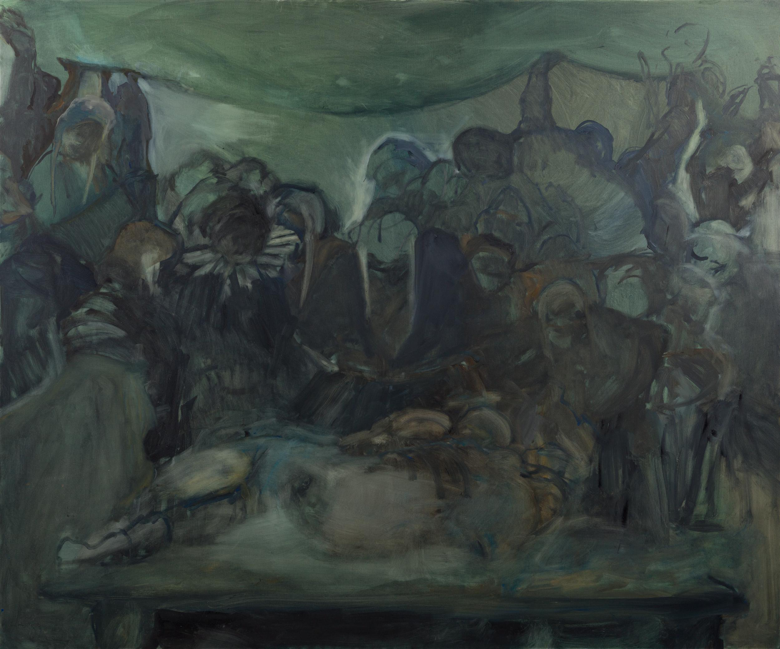 "Feast II, 60x 72"" Oil on Canvas 2019"