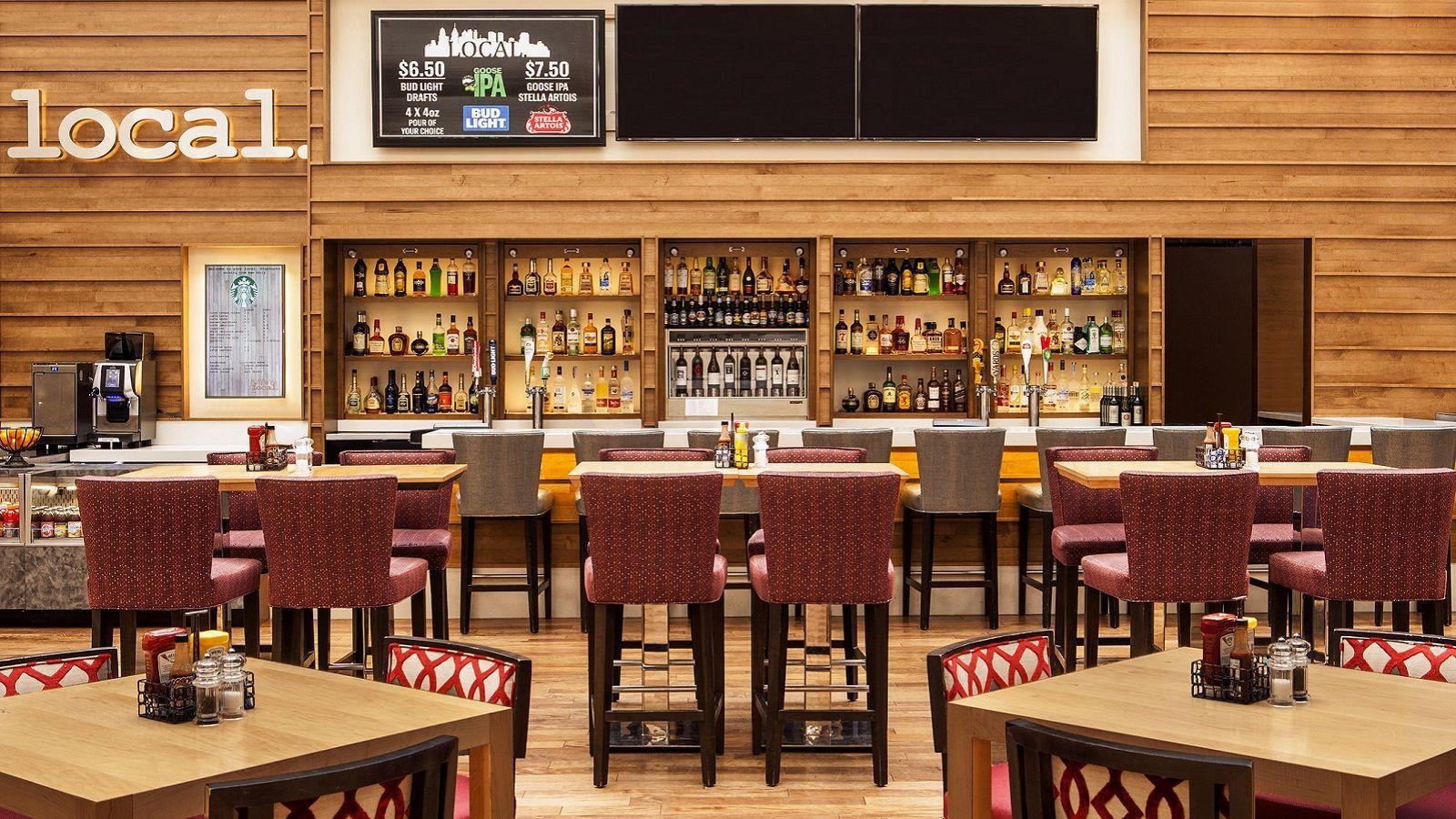 Sheraton restaurant/bar