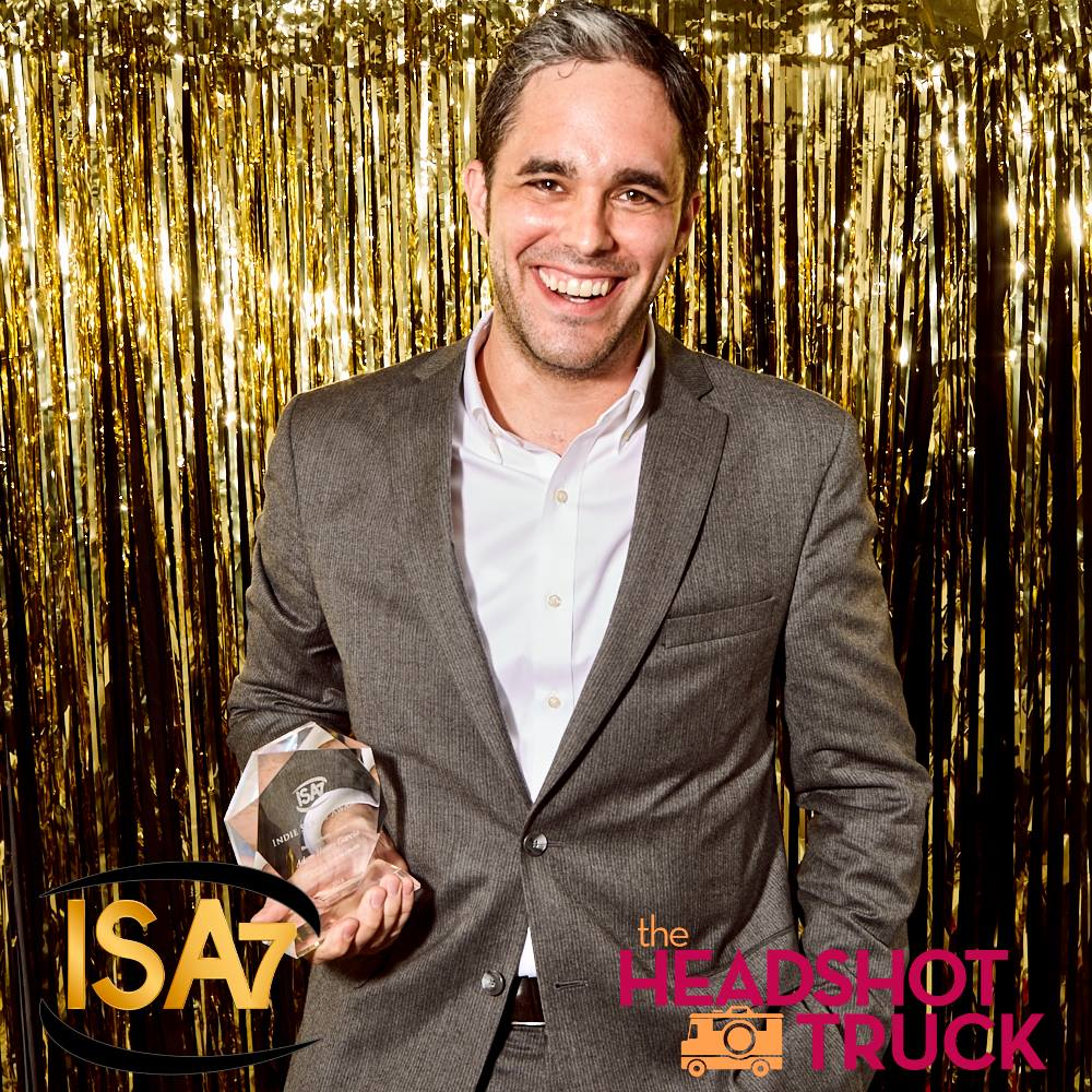 Adam Henry Garcia  with award
