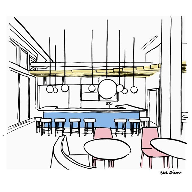 The jig is up!  Thanks @eaterpdx for breaking the story and big thanks to @jeffmorgen for sharing his photog skills with us. Here's a sketch of what the joint is going to look like.