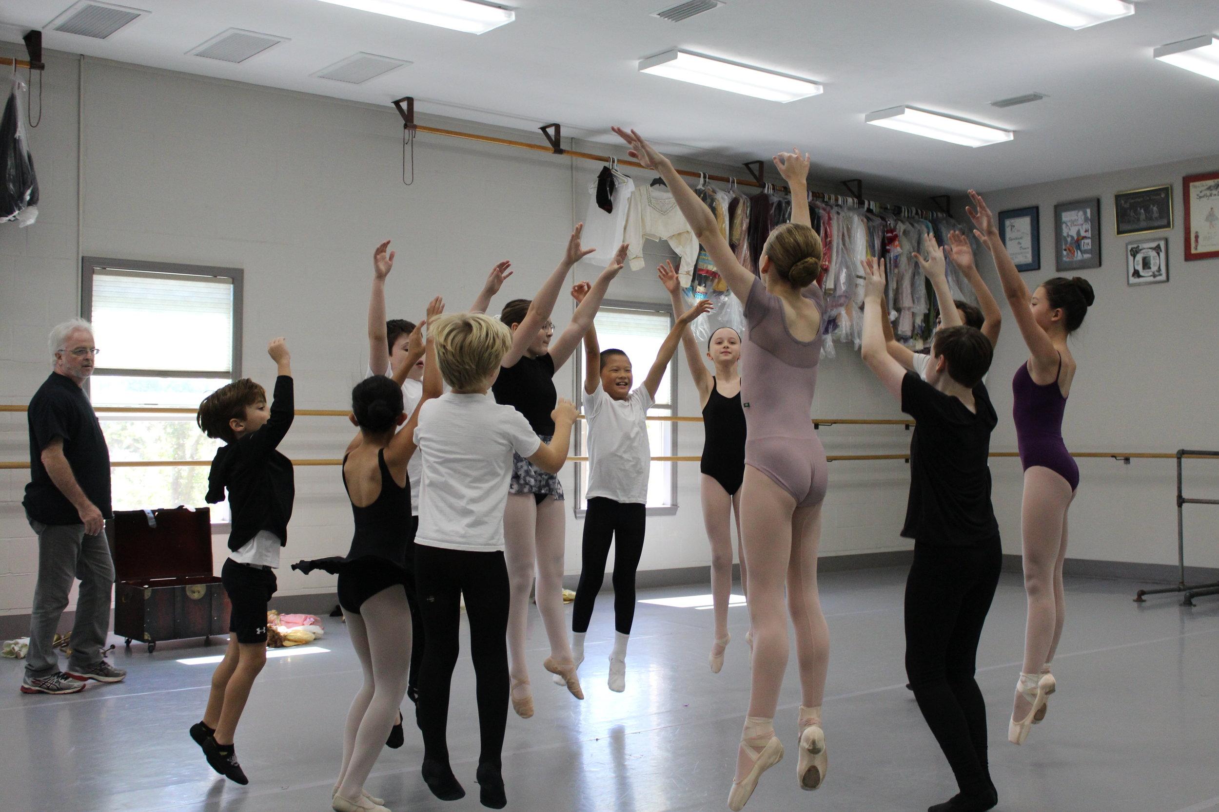 Junior Ballet Technique 6-7 pm $45/week - For dancers in the Scholar and Ballet 2 Levels