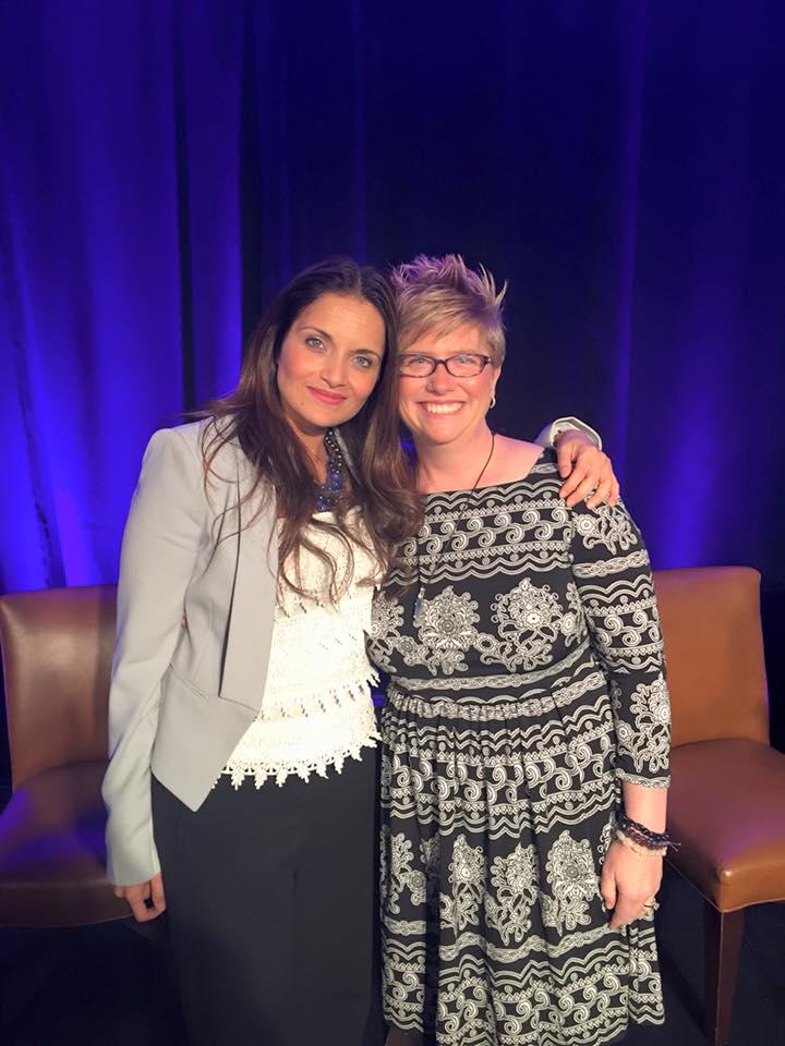 Emily with Dr. Shefali