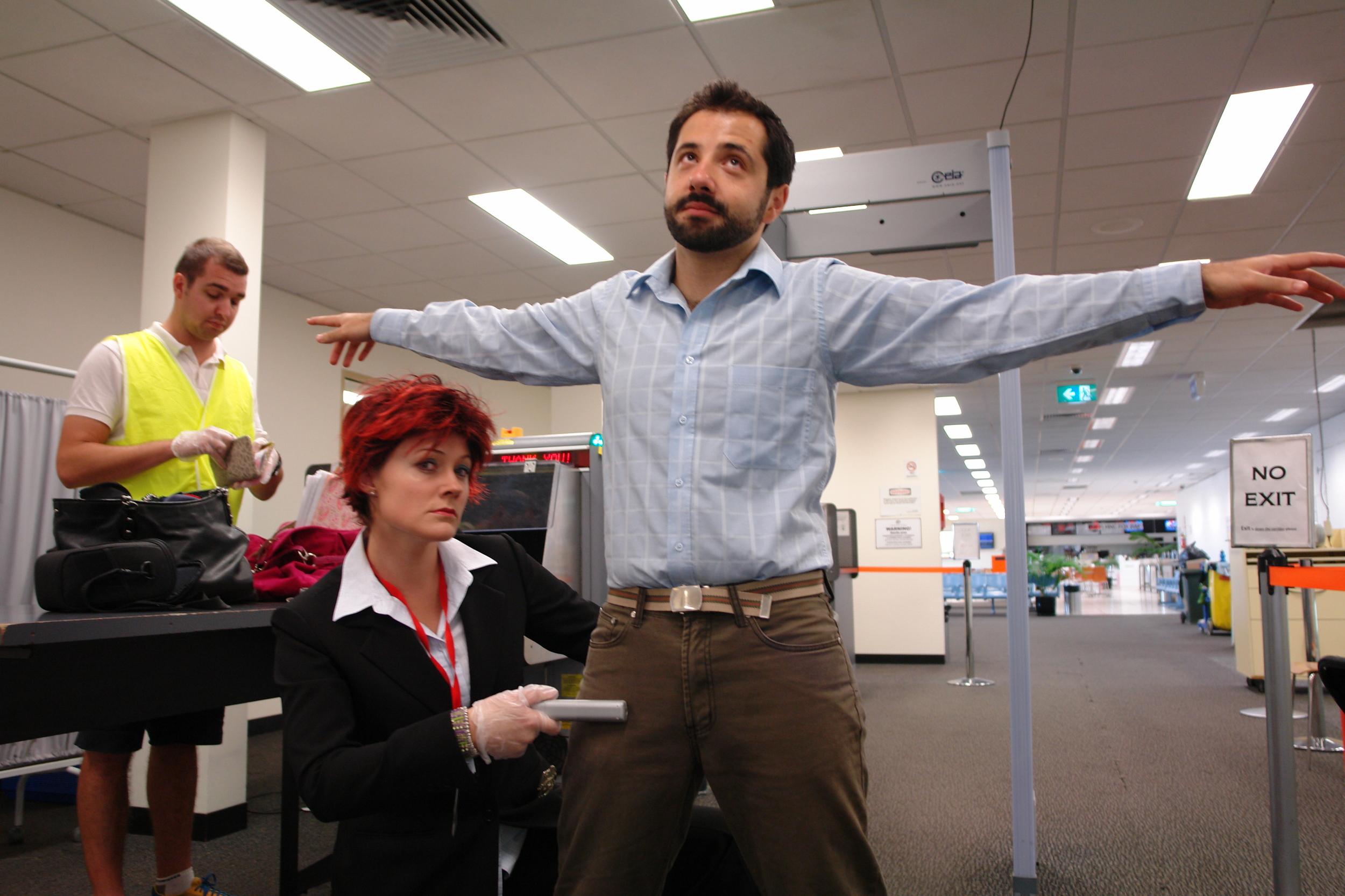Karen barnes on the job.JPG