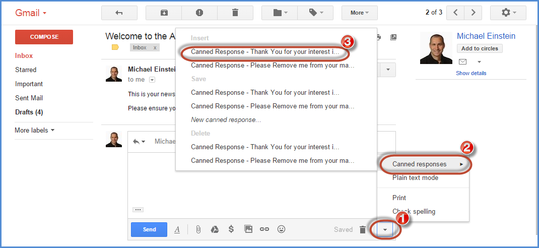 Gmail Canned Response Screenshot7