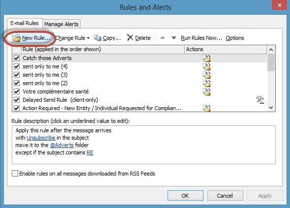 Outlook Delay Send Rule Screenshot1