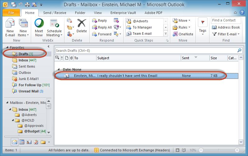 Outlook Delay Send Rule Screenshot10
