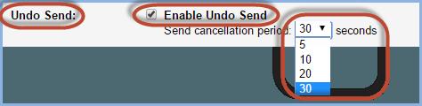 Gmail Undo Send Screenshot3