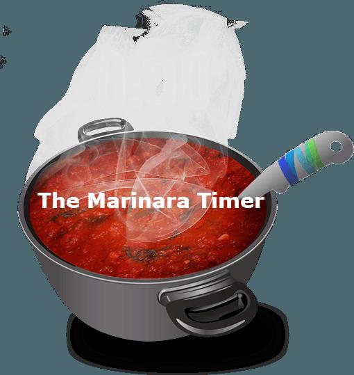 The Marinara Timer for the Pomodoro Technique