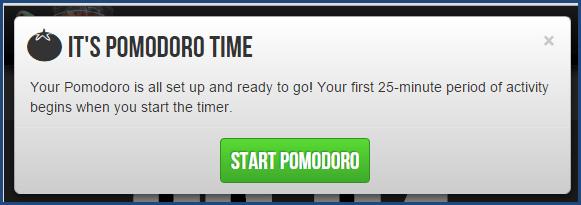 Marinara Timer - Pomodoro Option