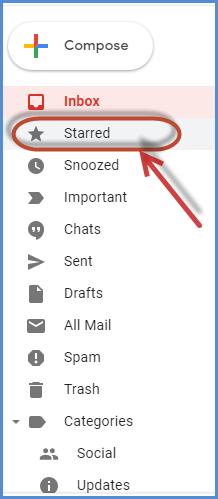 Gmail Stars Feature Screenshot14