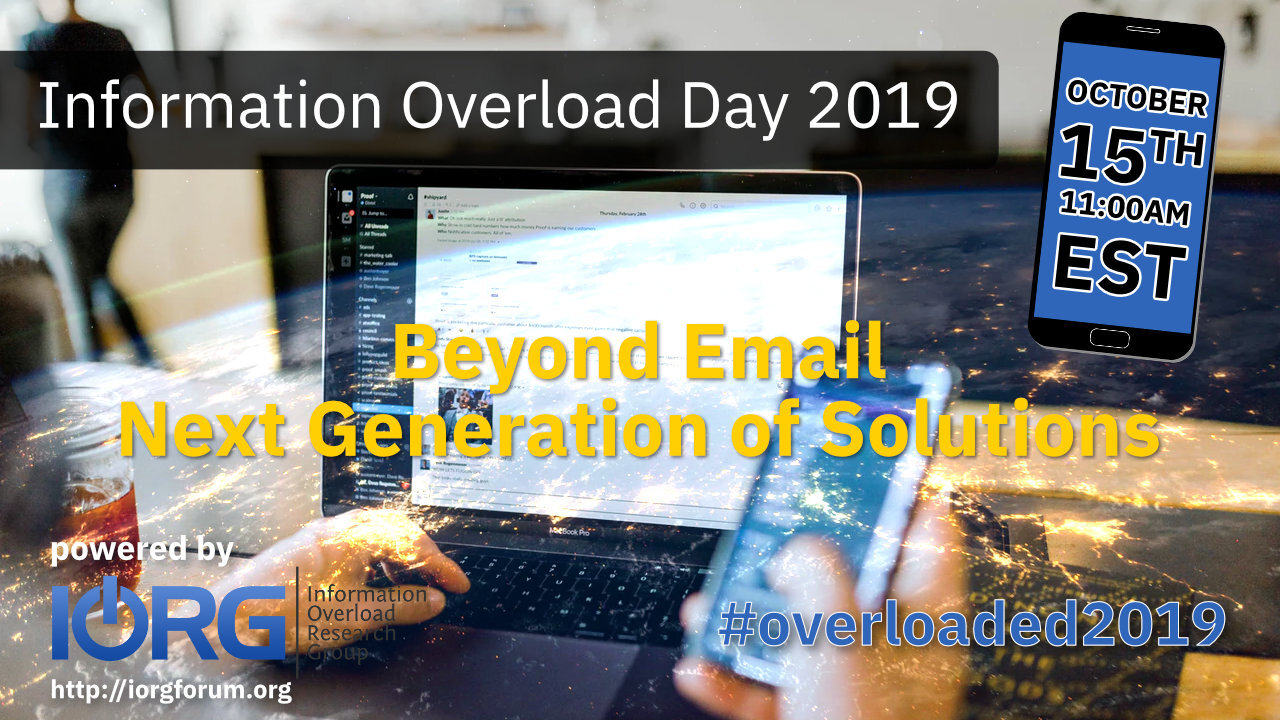 Information Overload Day 2019