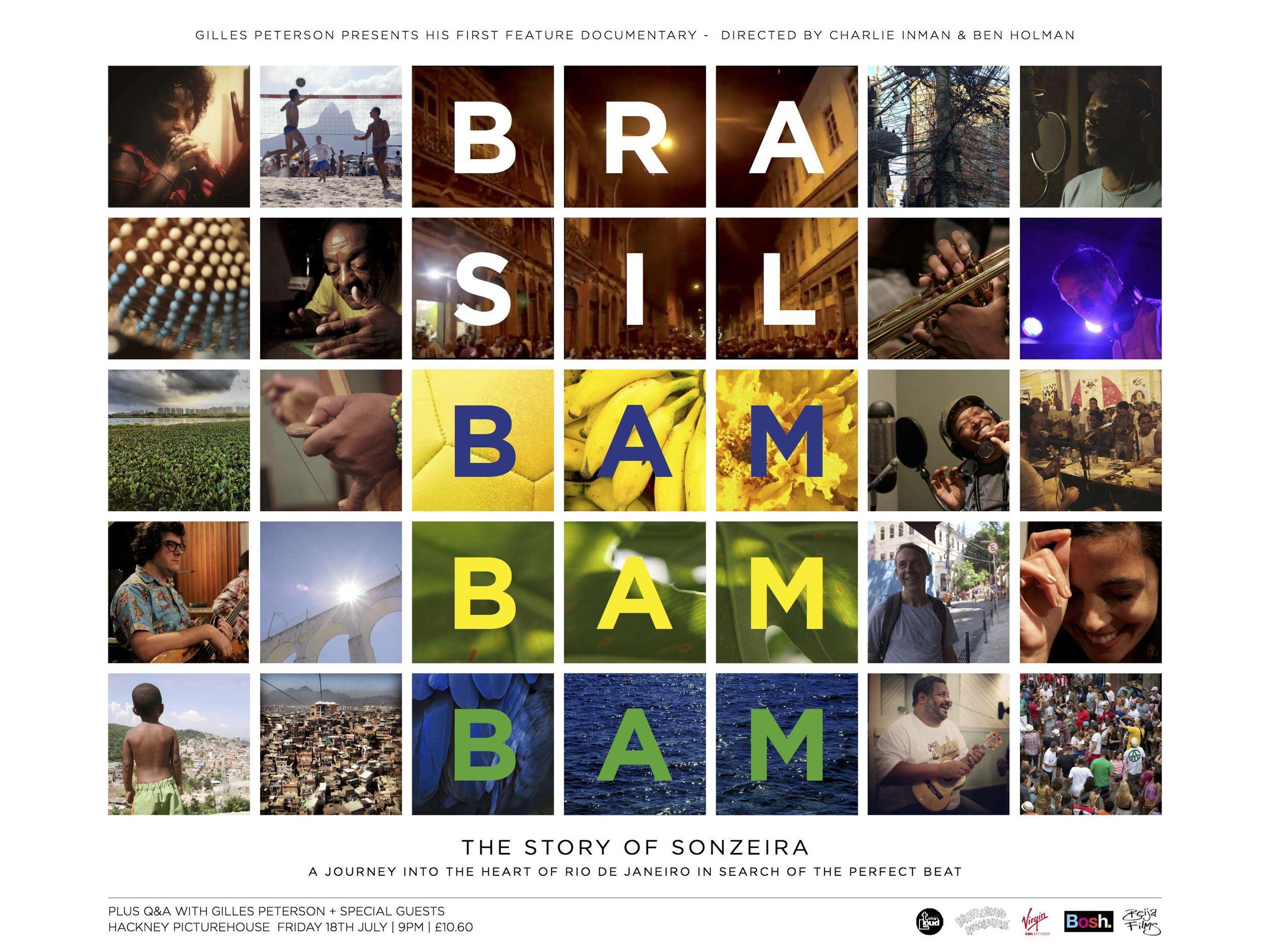 GILLES PETERSON IN BRAZIL - SONZEIRA BAMBAMBAM