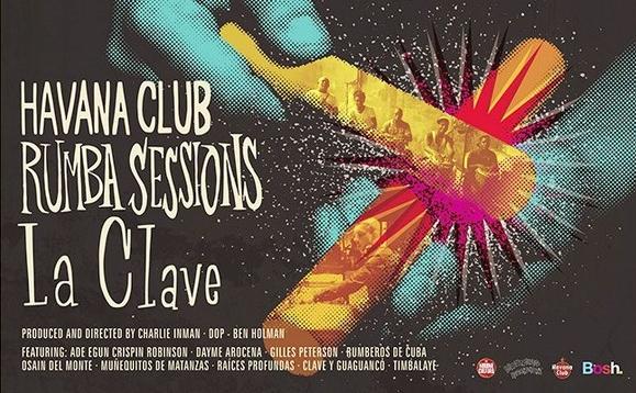 "GILLES PETERSON IN CUBA - HAVANA CLUB RUMBA SESSIONS- ""LA CLAVE"""