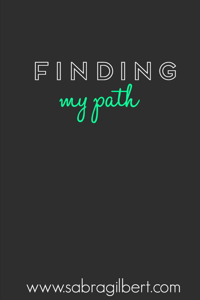 Find My Path || Becoming Sabra Gilbert