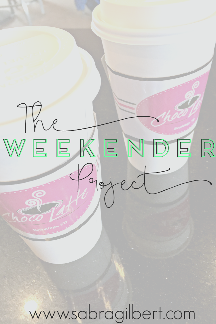The Weekender Project || 19 with Becoming Sabra Gilbert