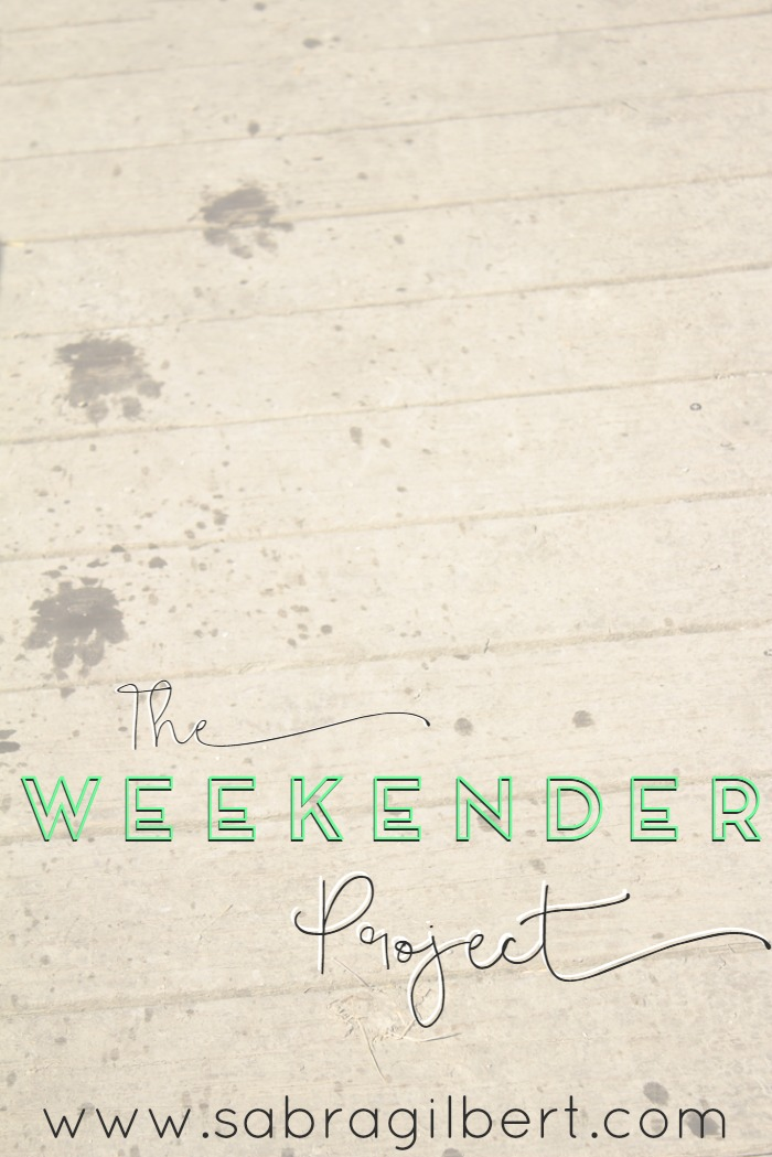The Weekender Project || 27 with Becoming Sabra Gilbert